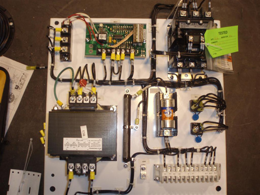UL 508A Panel Shop Cab Controls